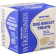 SPORTMiX Wholesomes Puppy Variety Grain-Free Biscuit Dog Treats, 20-lb box