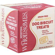 SPORTMiX Wholesomes Large Gourmet Biscuit with Bone Charcoal and Mint Flavor Grain-Free Dog Treats, 20-lb box