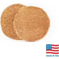 USA Bones & Chews Chicken Blend Burger Patty Dog Treats, 2 count