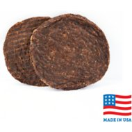 USA Bones & Chews Beef Blend Burger Patty Dog Treats, 2 count