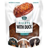 VERA Duck Fillets Dog Treats, 18-oz bag