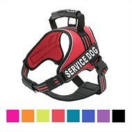 Chai's Choice Service Dog Vest Harness, XX-Large, Red