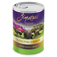 Zignature Guinea Fowl Limited Ingredient Formula Grain-Free Canned Dog Food, 13-oz, case of 12