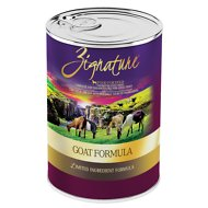 Zignature Goat Limited Ingredient Formula Grain-Free Canned Dog Food, 13-oz, case of 12