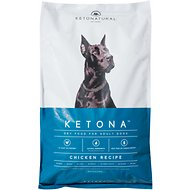 KetoNatural Ketona Chicken Recipe Adult Dry Dog Food, 24.2-lb bag