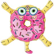 Fat Cat Donut Cat Plush Dog Toy