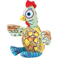 Fat Cat Chicken 'N Waffles Plush Dog Toy