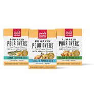 The Honest Kitchen Pumpkin POUR OVERS Variety Pack Wet Dog Food Toppers, 5.5-oz, 3 pack