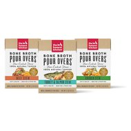 The Honest Kitchen Bone Broth POUR OVERS Variety Pack Wet Dog Food Topper, 5.5-oz, 3 pack