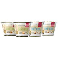 The Honest Kitchen Whole Grain Variety Pack Dehydrated Dog Food, 1.75-oz cup, 4 pack