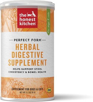 The Honest Kitchen Perfect Form Herbal Digestive Dog & Cat Supplement, 3.2-oz jar