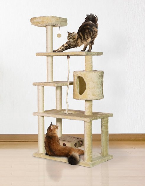 furhaven-55-in-deluxe-playground-cat-tree by furhaven