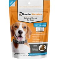 ThunderWunders Melatonin Calming Dog Chews, 60 Count