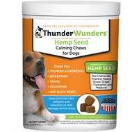 ThunderWunders Hemp Calming Dog Chews, 60 Count