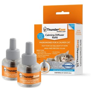 ThunderEase Calming Diffuser Refill for Cats, 30 day, 2 count