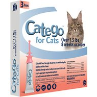 Catego Flea & Tick Treatment for Cats, 3 treatments