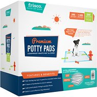 Frisco Giant Training & Potty Pads, 27.5-in x 44-in, 50 count, Unscented