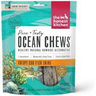 The Honest Kitchen Beams Ocean Chews Cod Fish Skins Dehydrated Dog Treats, Small,  2.75-oz bag