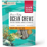 The Honest Kitchen Beams Ocean Chews Cod Fish Skins Dehydrated Dog Treats, Large, 5.5-oz bag