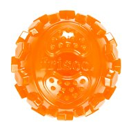 Frisco Fetch TPR Squeaking Ball Dog Toy, Orange, X-Large