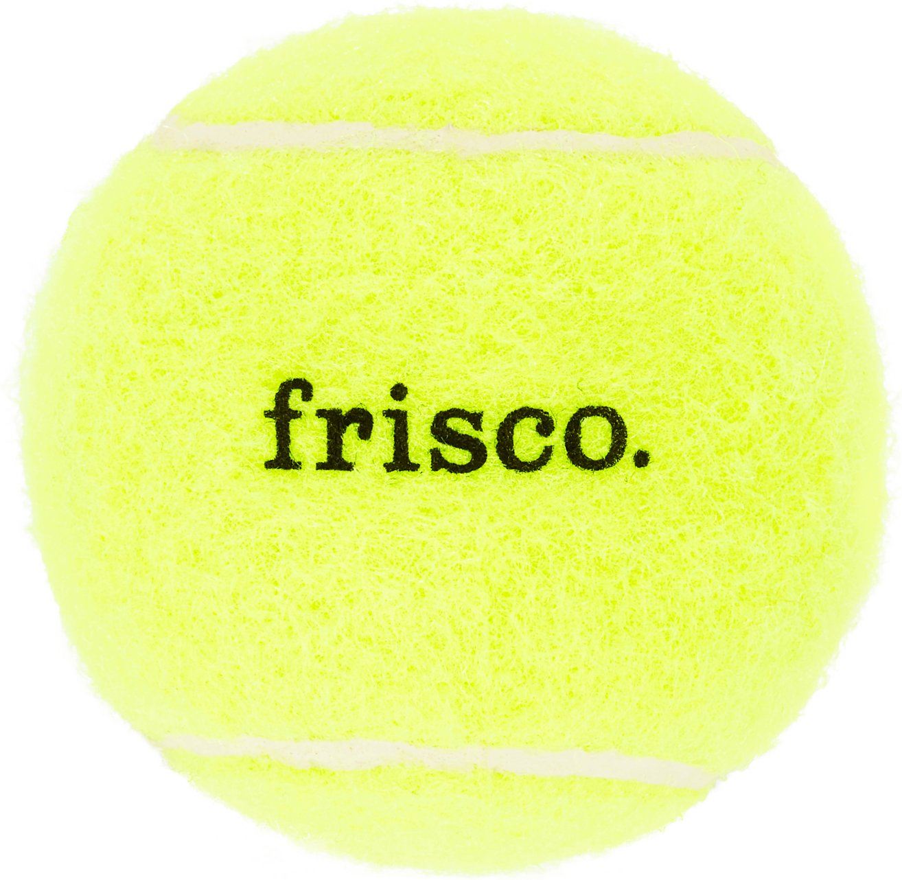 Frisco Fetch Squeaking Tennis Ball Dog Toy 2 5 In Chewy Com
