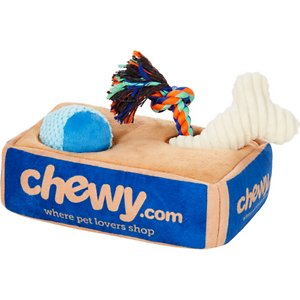 Frisco Hide and Seek Plush Chewy Box Puzzle Dog Toy