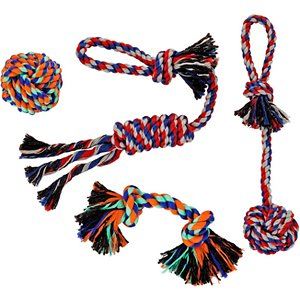 Frisco Rope Small to Medium Assorted Dog Toys