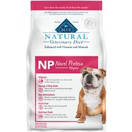 Blue Buffalo Natural Veterinary Diet NP Novel Protein Alligator Grain-Free Dry Dog Food, 6-lb bag