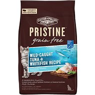 Castor & Pollux PRISTINE Grain-Free Wild-Caught Tuna & Whitefish Recipe Dry Cat Food, 3-lb bag