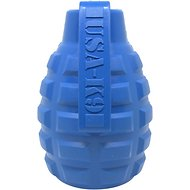 USA-K9 Grenade Dog Toy, Blue, Medium