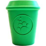 SodaPup Coffee Cup Dog Toy, Green, Large