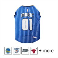 Pets First NBA Dog & Cat Mesh Jersey, Orlando Magic, X-Large