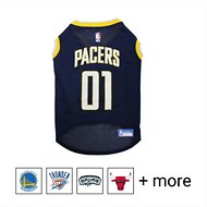 Pets First NBA Dog & Cat Mesh Jersey, Indiana Pacers, X-Small