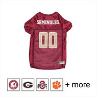 Pets First NCAA Dog & Cat Mesh Jersey, Florida State, Medium