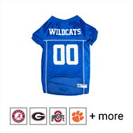 Pets First NCAA Dog & Cat Mesh Jersey, Kentucky Wildcats, Large