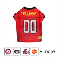 Pets First NCAA Dog & Cat Mesh Jersey, Maryland Terrapins, Large