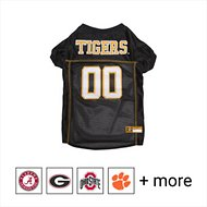 Pets First NCAA Dog & Cat Mesh Jersey, Missouri Tigers, Large
