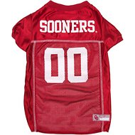 Pets First NCAA Dog & Cat Mesh Jersey, Oklahoma Sooners, Small