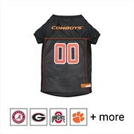 Pets First NCAA Dog & Cat Mesh Jersey, Oklahoma State, Large