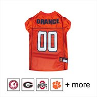 Pets First NCAA Dog & Cat Mesh Jersey, Syracuse Orange, Small