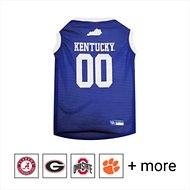 Pets First NCAA Basketball Dog & Cat Mesh Jersey, Kentucky Wildcats, Large