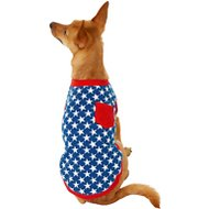 Frisco Star Spangled Dog & Cat T-Shirt, Small