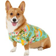 Frisco Pineapple Hawaiian Camp Dog & Cat Shirt, Large