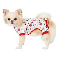 Frisco Dog & Cat Jersey PJs, Firetruck Rescue, X-Small