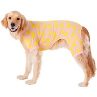 Frisco Dog & Cat Jersey PJs, Lemon Twist, XX-Large