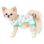 Frisco Dog & Cat Jersey PJs, Flamingo Gardens, X-Small