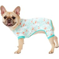 Frisco Dog & Cat Jersey PJs, Flamingo Gardens, Medium