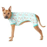 Frisco Dog & Cat Jersey PJs, Flamingo Gardens, X-Large