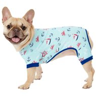 Frisco Dog & Cat Jersey PJs, Sleepy Sailor, Medium