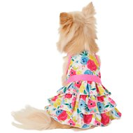 Frisco Floral Tea Party Dog and Cat Sundress, X-Small